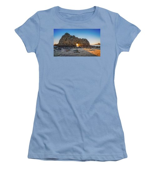 Sunset At Hole In The Rock Women's T-Shirt (Junior Cut) by James Hammond