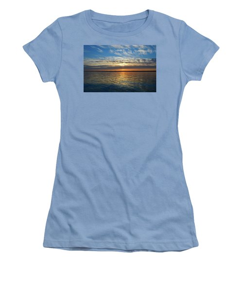Sunset Dream  Women's T-Shirt (Athletic Fit)