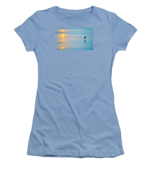 Sunset Stroll Women's T-Shirt (Athletic Fit)