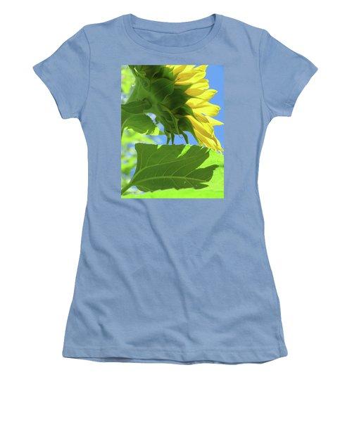 Sunshine In The Garden 19  Women's T-Shirt (Junior Cut) by Brooks Garten Hauschild