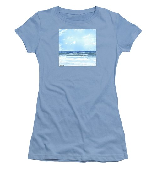 Surf's Up Women's T-Shirt (Athletic Fit)