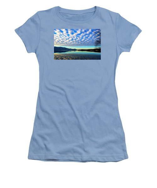Surreal Sunrise Women's T-Shirt (Athletic Fit)