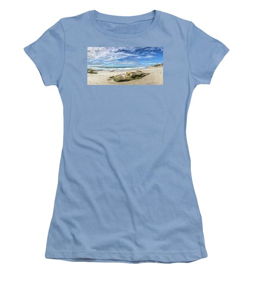 Women's T-Shirt (Junior Cut) featuring the photograph Surrounded By Beauty by Peter Tellone