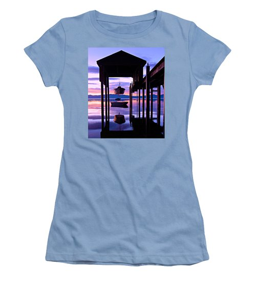 Women's T-Shirt (Athletic Fit) featuring the photograph Suspended Animation by Sean Sarsfield