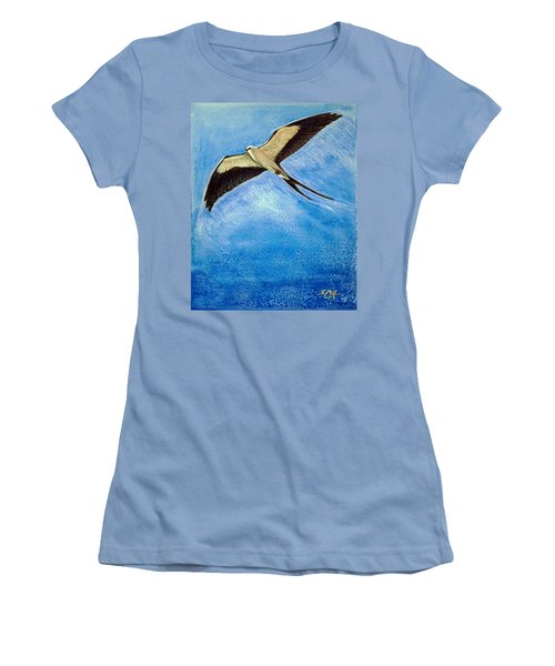Swallowtail Sighting Women's T-Shirt (Junior Cut) by Suzanne McKee