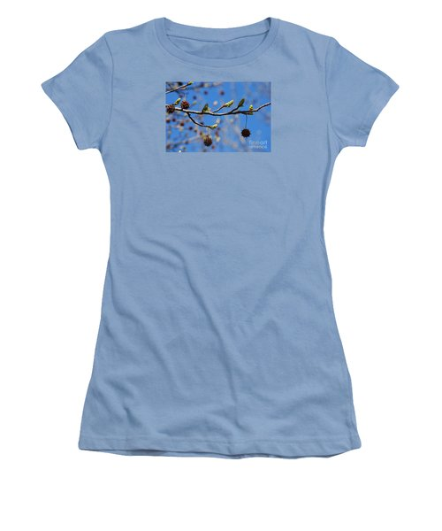Sweet Gum Catkins 20120405_206a Women's T-Shirt (Athletic Fit)