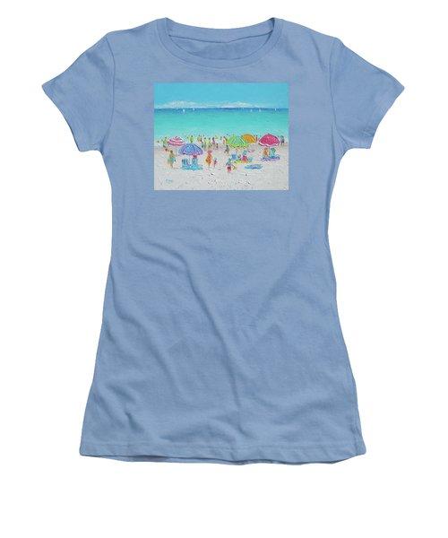 Sweet Sweet Summer Women's T-Shirt (Junior Cut) by Jan Matson