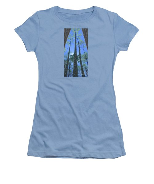 Tall Blue Ridge Beauty Women's T-Shirt (Athletic Fit)