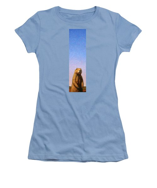 Tall Prairie Dog Women's T-Shirt (Athletic Fit)