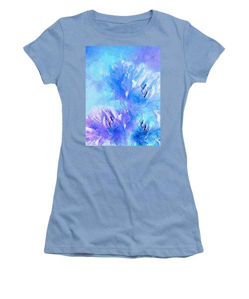 Women's T-Shirt (Junior Cut) featuring the digital art Tenderness by Klara Acel
