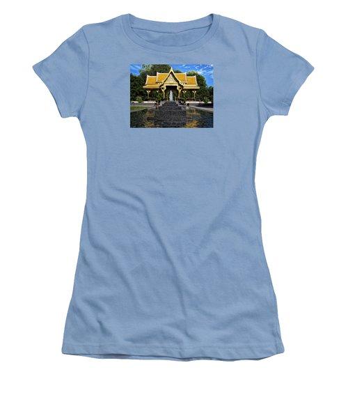 Thai Pavilion - Madison - Wisconsin Women's T-Shirt (Athletic Fit)
