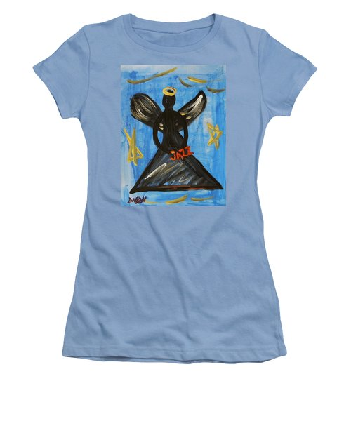 The Angel Of Jazz Women's T-Shirt (Junior Cut) by Mary Carol Williams