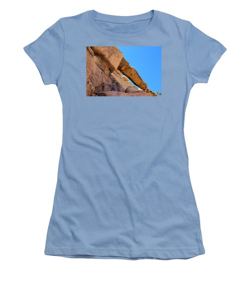 The Arch In Joshua Tree Np Women's T-Shirt (Athletic Fit)