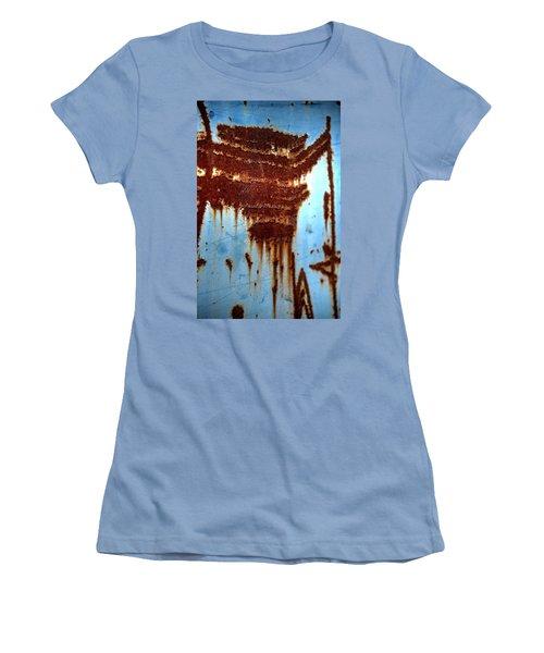 The Art Of Rust Women's T-Shirt (Junior Cut) by Jerry Sodorff