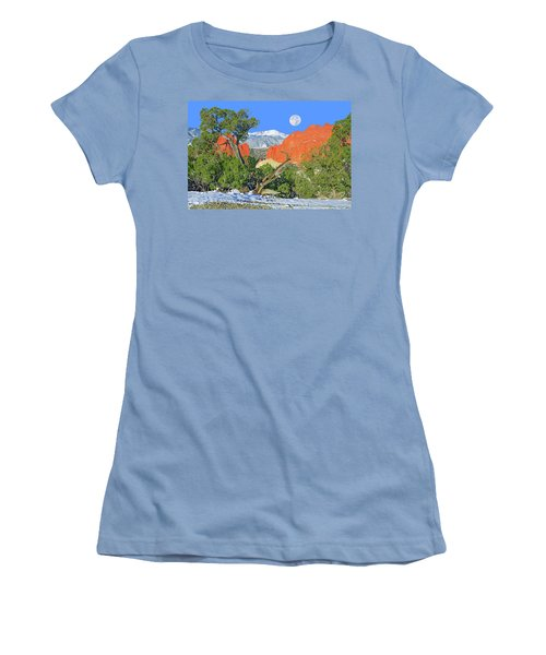 The Beauty That Takes Your Breath Away And Leaves You Speechless. That's Colorado.  Women's T-Shirt (Junior Cut) by Bijan Pirnia