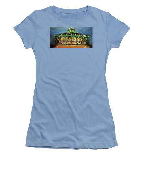 The Carousel Of Asbury Park Women's T-Shirt (Athletic Fit)