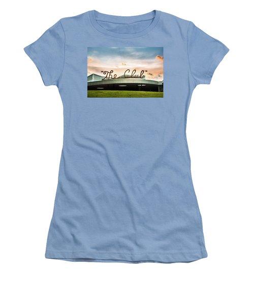 Women's T-Shirt (Junior Cut) featuring the photograph The Club Birmingham by Parker Cunningham