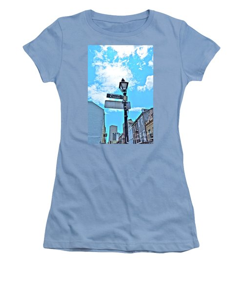 The Corner Of Conti Women's T-Shirt (Athletic Fit)