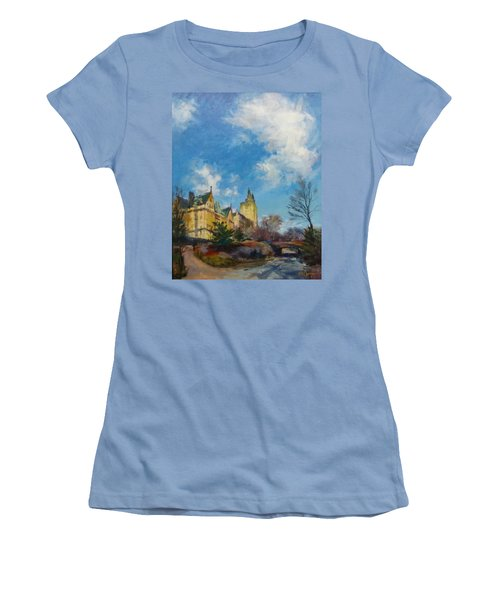 The Bridle Path, Central Park Women's T-Shirt (Athletic Fit)