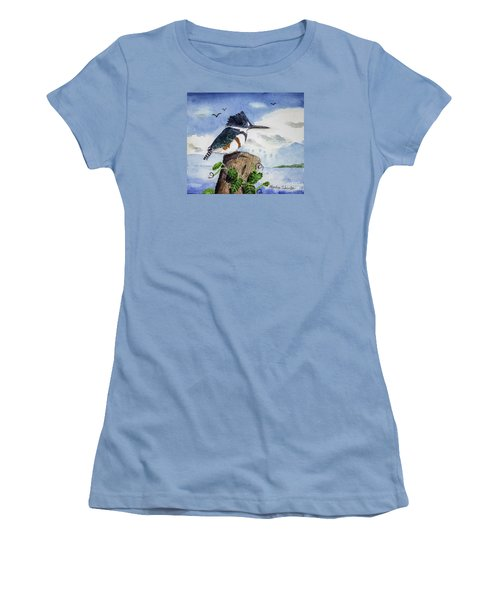 The Fisher Queen  Women's T-Shirt (Athletic Fit)