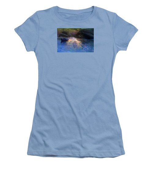 The Gathering Women's T-Shirt (Junior Cut) by Ed Hall