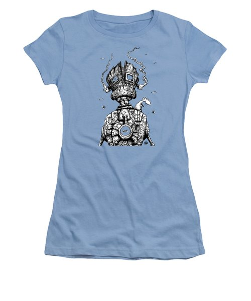 The Ghost In The Machine Women's T-Shirt (Athletic Fit)