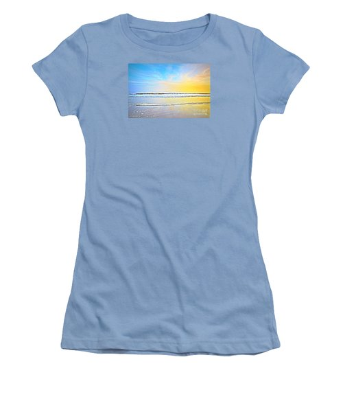 The Golden Hour Women's T-Shirt (Junior Cut) by Shelia Kempf