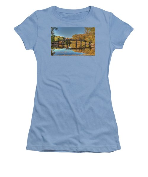 The Old North Bridge Women's T-Shirt (Athletic Fit)