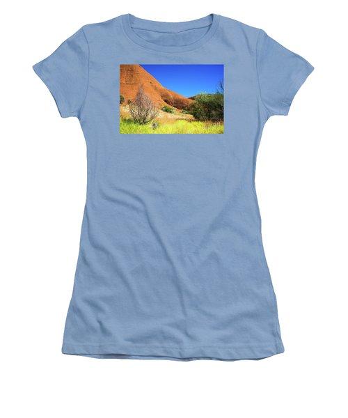 The Olgas Kata Tjuta Women's T-Shirt (Athletic Fit)