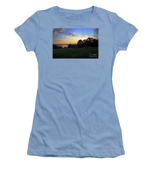 The Point At Sunrise Women's T-Shirt (Athletic Fit)