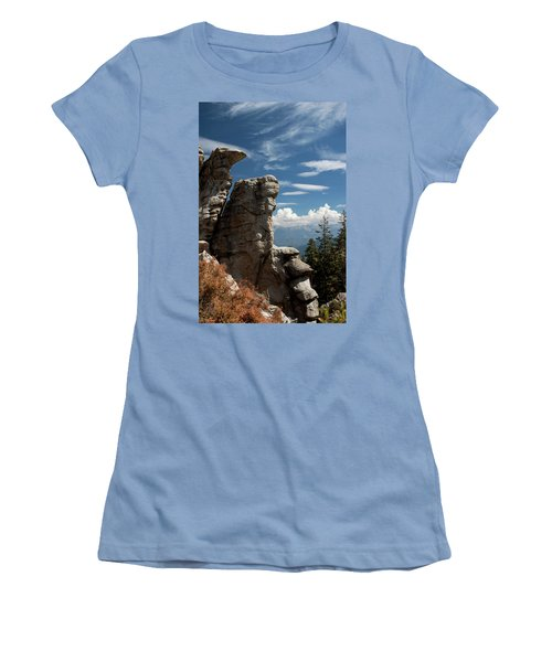 The Rock Formation Women's T-Shirt (Athletic Fit)