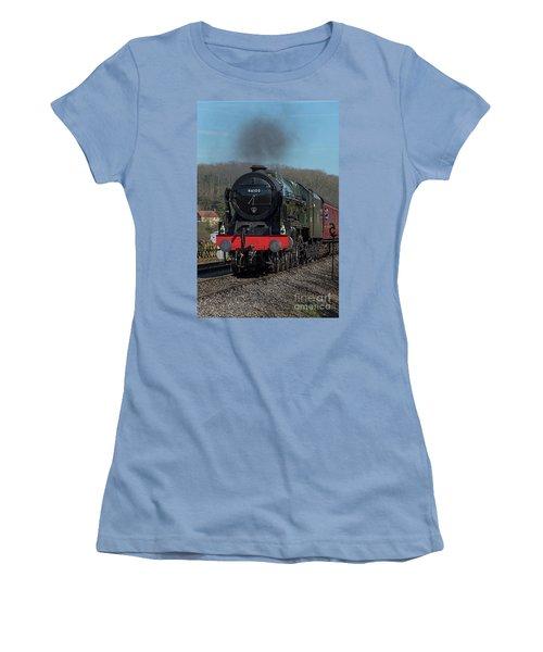 The Royal Scot 1 Women's T-Shirt (Junior Cut) by David  Hollingworth