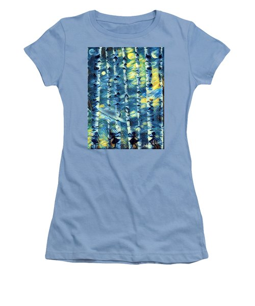 The Tree Children Women's T-Shirt (Athletic Fit)