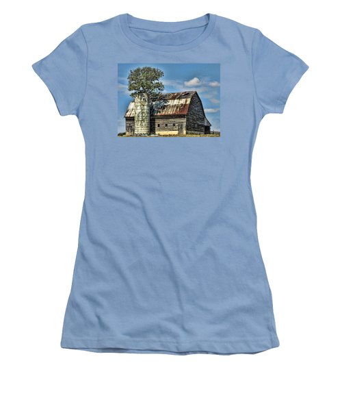 The Tree Silo Women's T-Shirt (Athletic Fit)