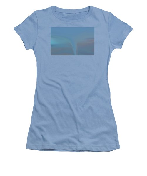 Women's T-Shirt (Junior Cut) featuring the painting The Twister by Dan Sproul