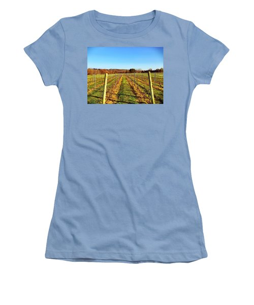 The Vineyard Women's T-Shirt (Athletic Fit)