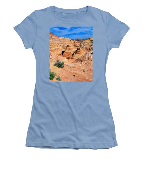 The Wave 2 Women's T-Shirt (Athletic Fit)