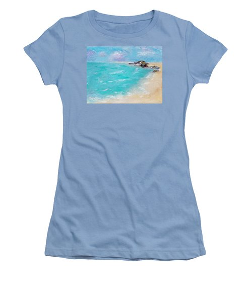 To The Rocks Women's T-Shirt (Athletic Fit)