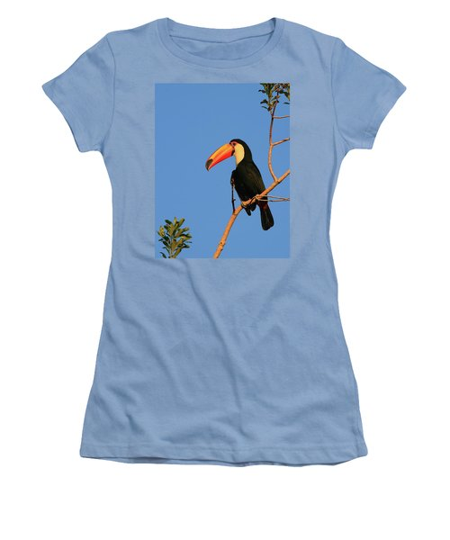 Toco Toucan Women's T-Shirt (Junior Cut) by Bruce J Robinson