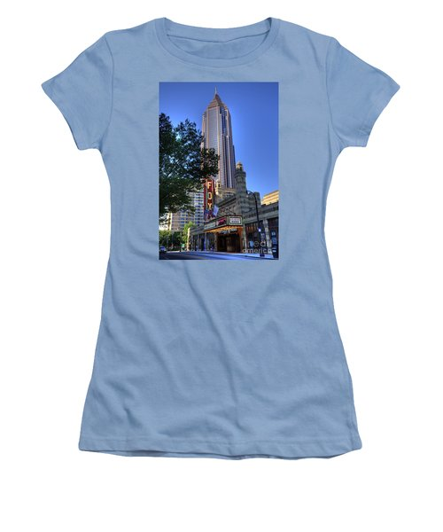 Towering Over The Fox Women's T-Shirt (Athletic Fit)