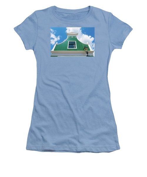 Women's T-Shirt (Junior Cut) featuring the photograph Traditional Dutch House by Hans Engbers