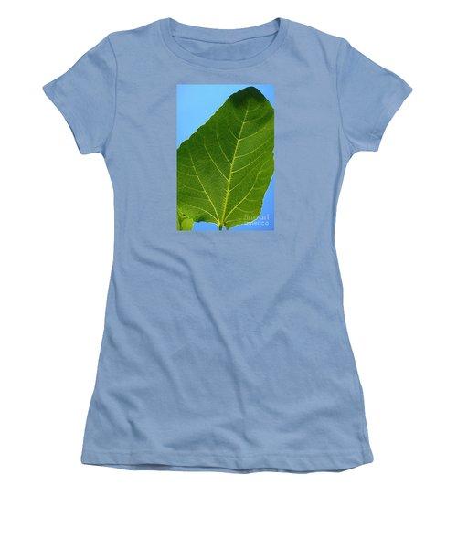 Transparence 18 Women's T-Shirt (Junior Cut) by Jean Bernard Roussilhe