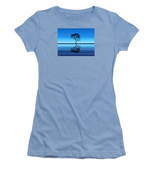 Women's T-Shirt (Junior Cut) featuring the photograph Tree Of Life by Bernd Hau