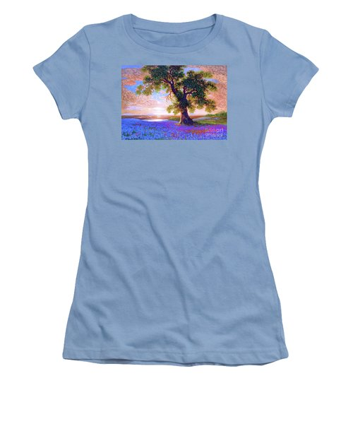 Tree Of Tranquillity Women's T-Shirt (Athletic Fit)