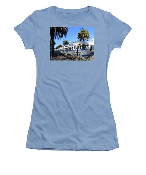 Trolley Number 1070 Women's T-Shirt (Junior Cut) by Steven Spak