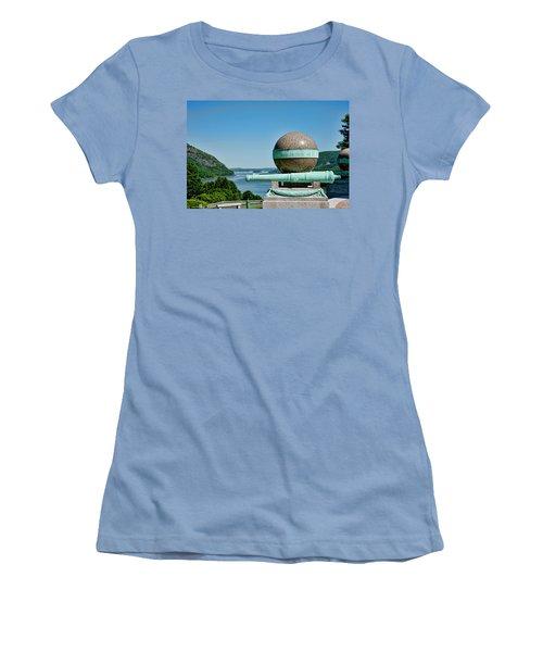 Trophy Point Women's T-Shirt (Junior Cut) by Dan McManus