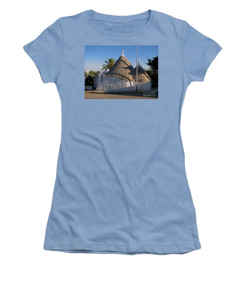 Trullo, Puglia Women's T-Shirt (Athletic Fit)