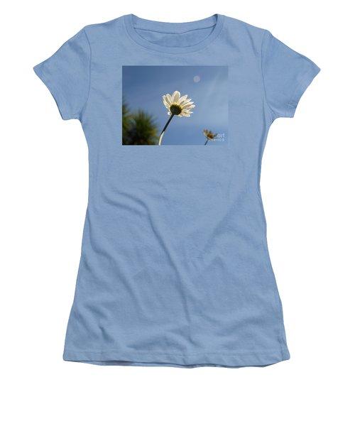 Turn To The Light Women's T-Shirt (Junior Cut) by Richard Brookes