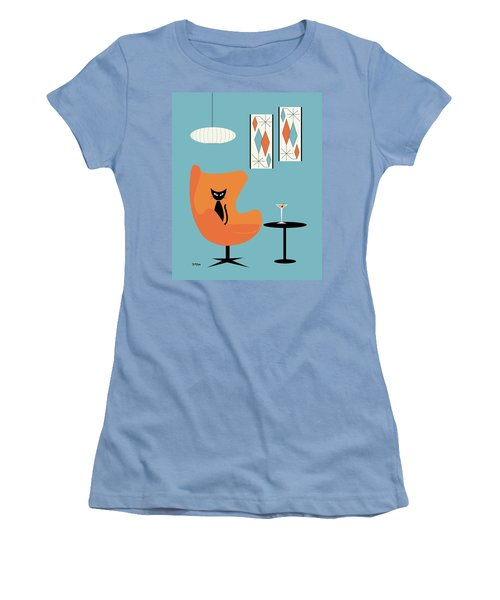 Turquoise Room Women's T-Shirt (Athletic Fit)