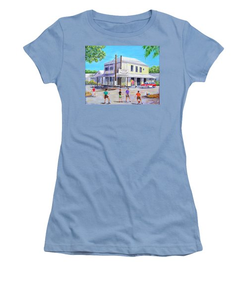 Umble's On Virginia And Georgia Women's T-Shirt (Athletic Fit)